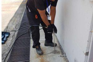 Anti termite post construction treatment