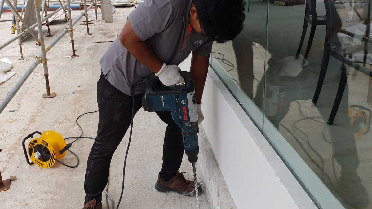 Anti termite treatment- post construction